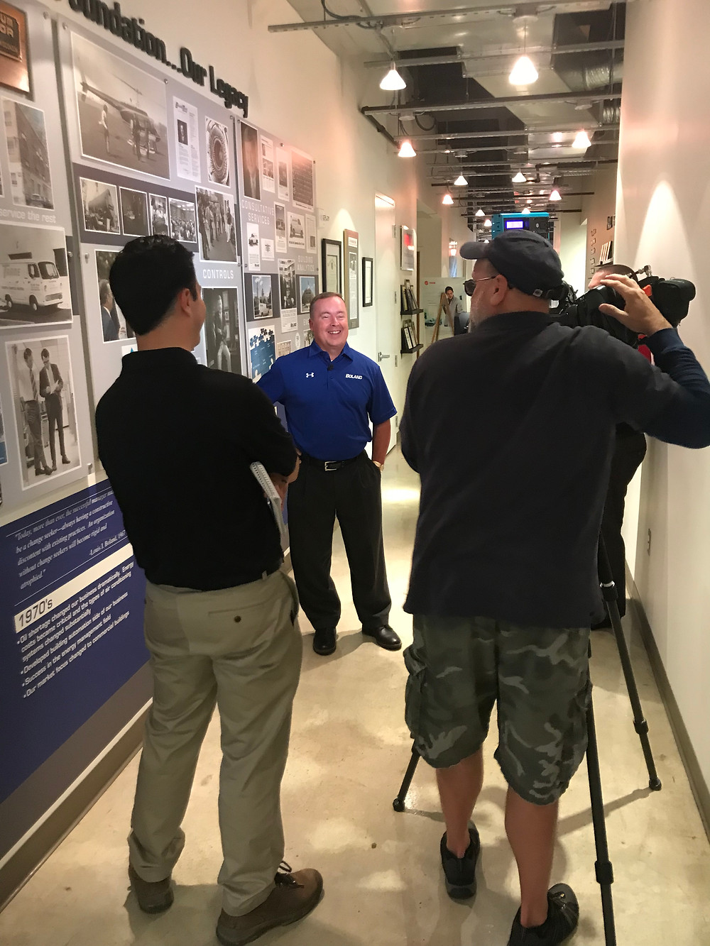 Boland's Jerry Taylor Interviewed by Nathan Baca, Investigative Reporter from WJLA