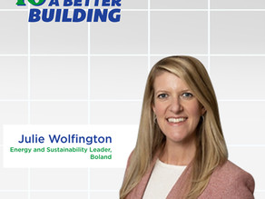 10 MINUTES TO A BETTER BUILDING PODCAST EP 01: JULIE WOLFINGTON