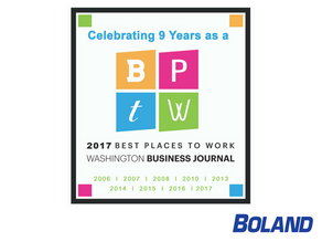 Boland Named a Best Place to Work