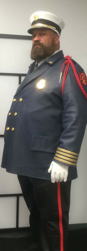 Fire Marshall Leather Uniform