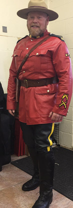 RCMP Leather Uniform