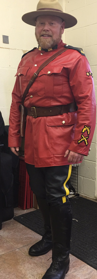 RCMP Leather Uniform