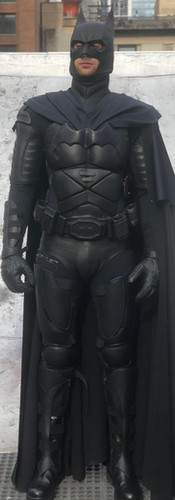 Stages of Batman Costume