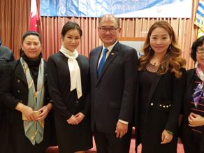 参加省议员叶志明筹款晚宴和少林文化中心慈善晚宴