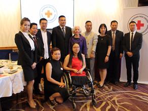 中国红十字总会代表团访问温哥华