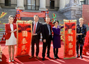 首届中国文化艺术节精彩开幕