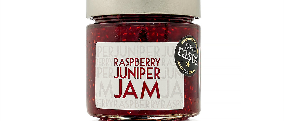 Raspberry & Juniper jam