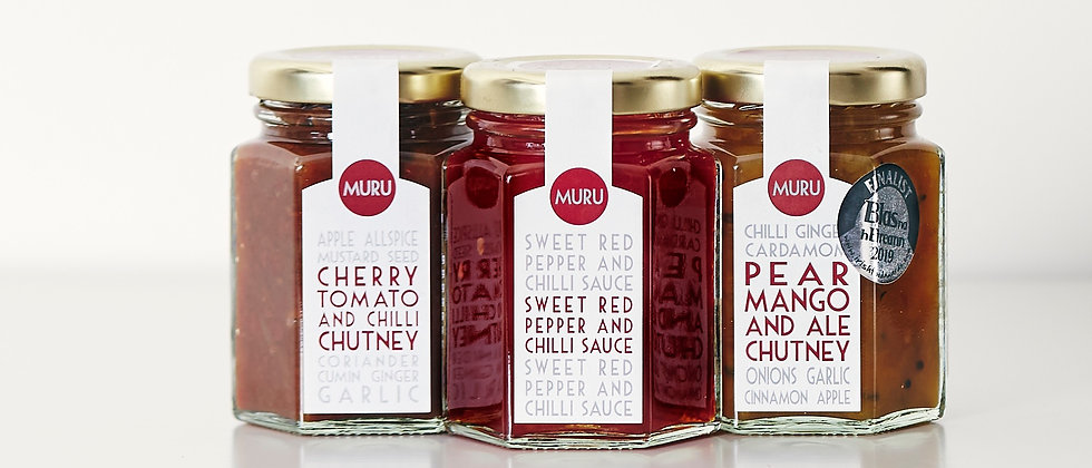 Trio Of Chutney Spice