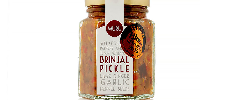 Brinjal Pickle - Award Winning - 110g