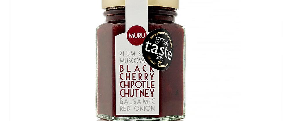 Black Cherry Chipotle Chutney 125g