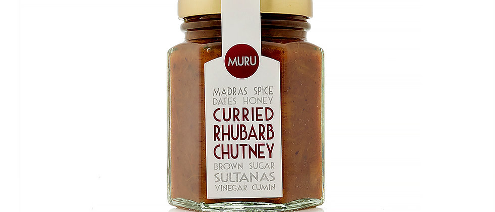 Curried Rhubarb Chutney 125g