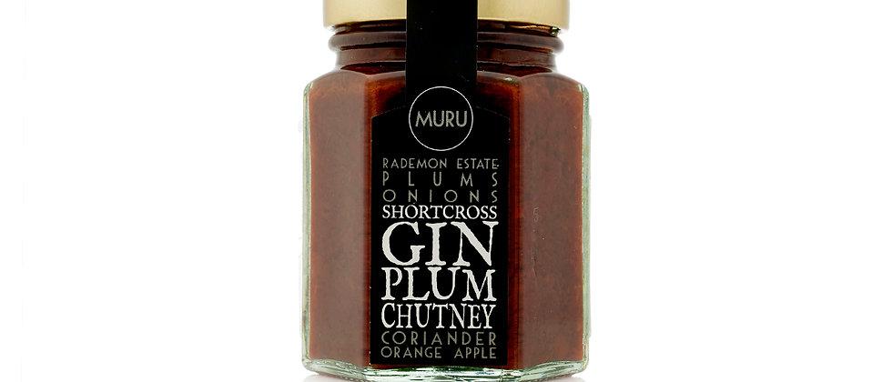 Shortcross Gin Plum Chutney 135g
