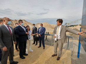Ukrainian Prime Minister and Vice President of the EC visit UMCC