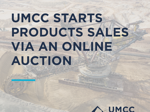 UMCC starts products sales via an online auction