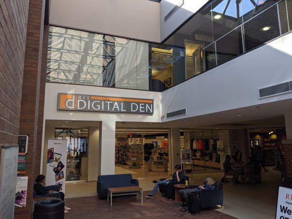 Digital Den Retail Store at Rochester Institute of Technology