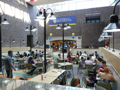 """University of Rochester """"The Pit"""" at Wilson Commons"""