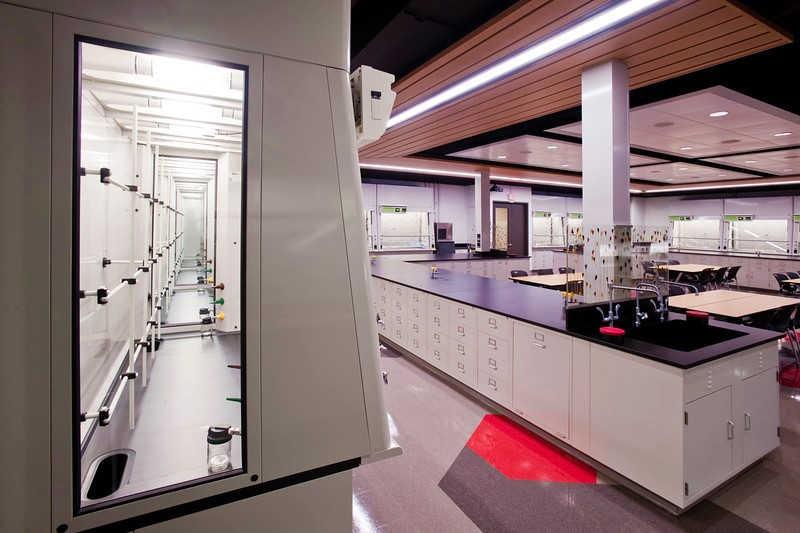 University of Rochester Hutchinson Hall Undergrad Chemistry Laboratory and Classroom