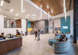 Pittsford Spiegel Center Lobby
