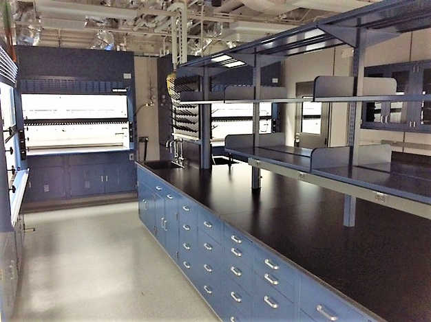 University of Rochester Hutchinson Hall Chemistry Research Laboratory B50, B51