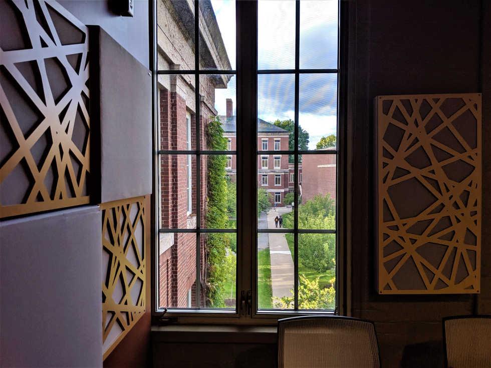 University of Rochester Gavett Hall Recording Studio and Classroom