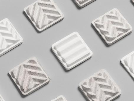 Form us with love & BAUX develop 100% bio-based acoustic pulp panels