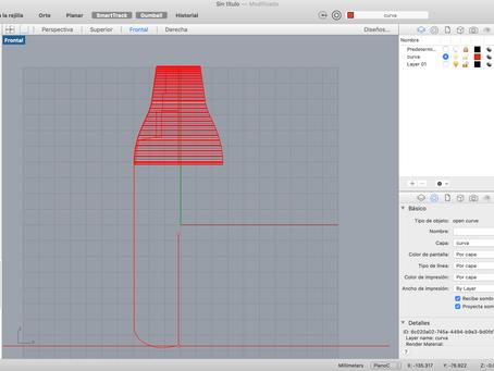 Diseño de producto y packaging modelando con Rhino.