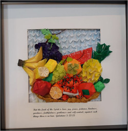 Origami Fruits of the Spirit