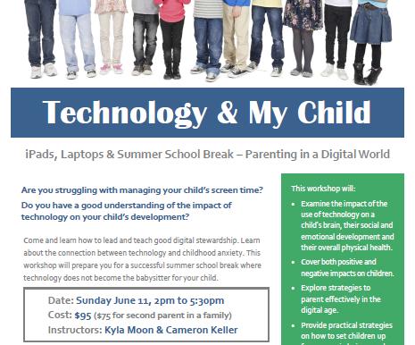 TECHNOLOGY & MY CHILD