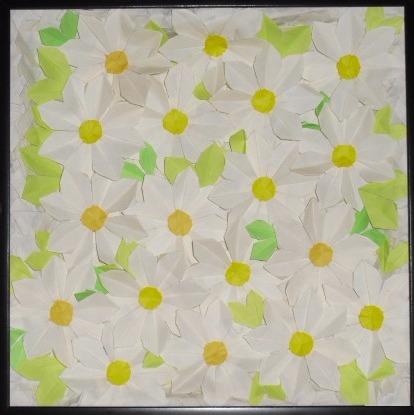 Origami - Daisy flowers