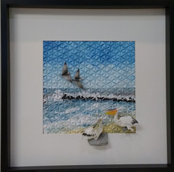 Origami Seagulls & Pelicans