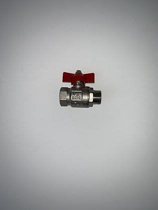 "0904002 valve ball 1/2"" FPT x 1/2"" MPT"