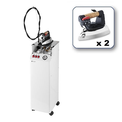 Professional Steam Generator with 2 Irons AV01 FF RA 110-120V