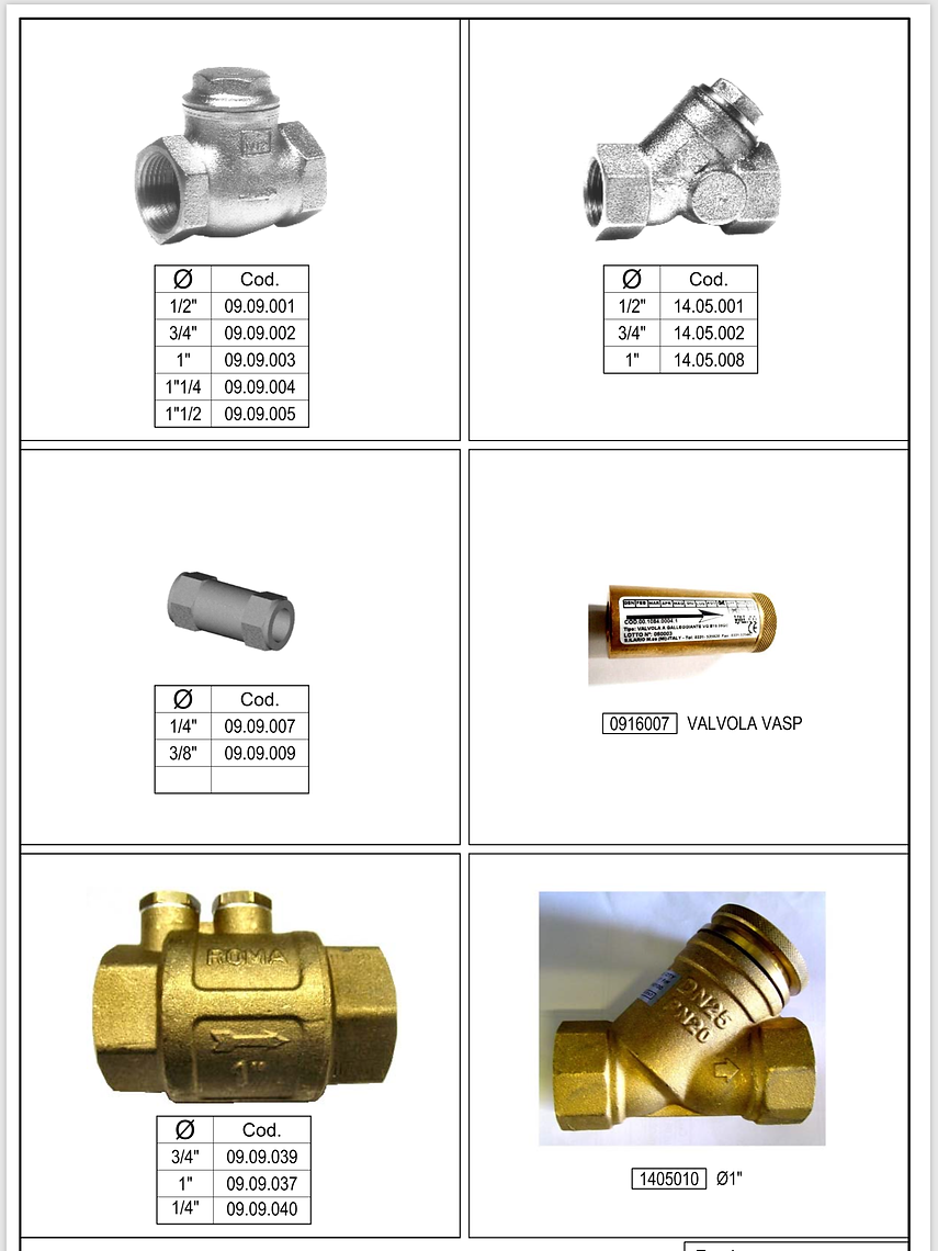 drycleaning_machine_check_valves_straine