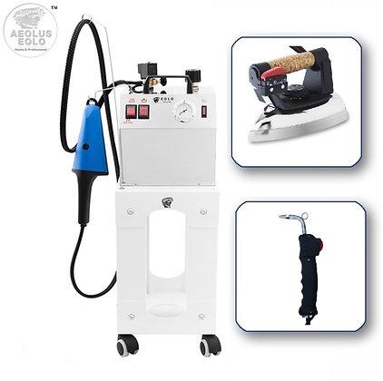 Professional Steam Ironing System with Brush, Gun  & Iron AV03 TRIPLE 110-120V