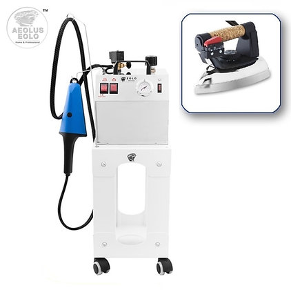 Professional Steam Ironing System with Steam Brush & Iron AV03 DUAL 110-120V