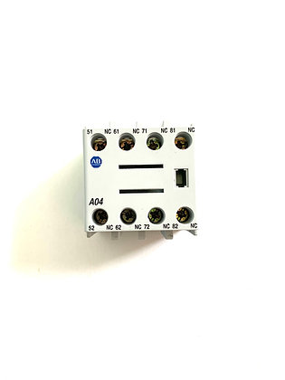 ALLEN-BRADLEY AUXILIARY CONTACT 100-FA04