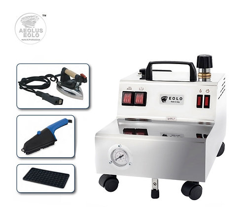 Professional Steam Ironing System with Iron and Steam Brush GV05 110-120V