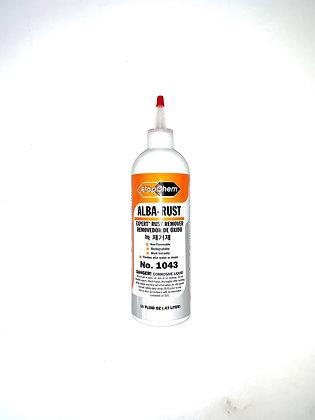 Alba Chem Rust Remover No.1043 16oz bottle