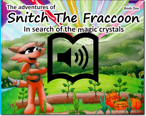 *Snitch the Fraccoon Audio Book
