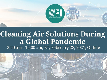 Open Education Webinar: Cleaning Air Solutions During a Global Pandemic