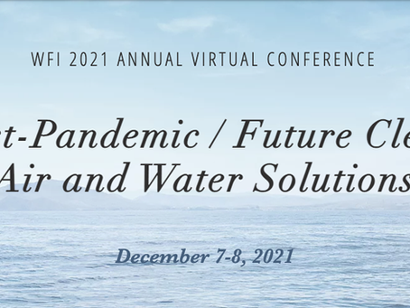 Full Program: Post-Pandemic/Future Clean Air and Water Solutions