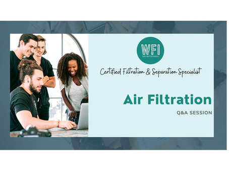 Advance Your Air Filter Design with Expert Training Online