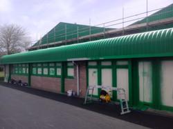 Roof & Cladding In progress