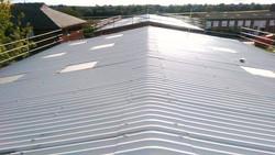 Asbestos roof restoration
