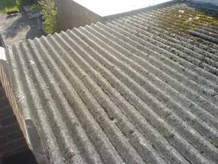 Asbestos Roof Cleaning & Coating