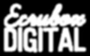 Ecrubox Digital White Logo