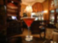 La Trav's Classic Manhattan cocktail from La Traviata's full bar