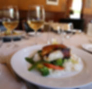 La Trav's Signature Dish - Chilean Seabass with Vegetables