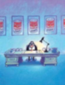 Leesboeken kun je ook aan je bureau lezen.