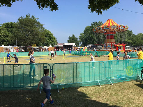 tennis outreach events